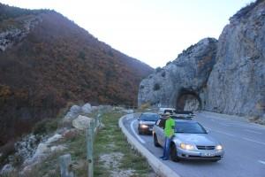 Auf dem Weg durch die Alpen nach Monaco